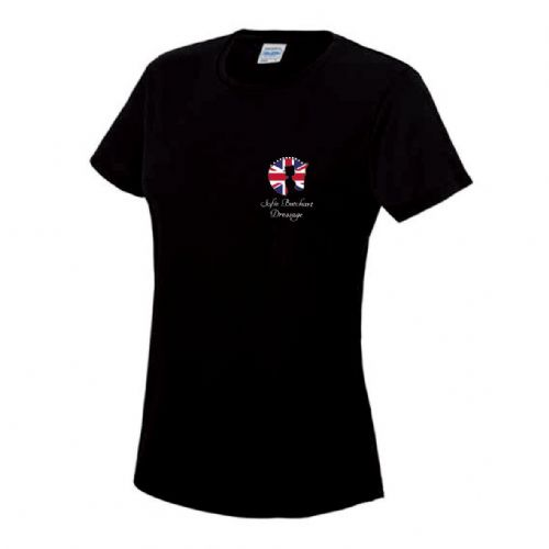 Kids Black Sofie Butchart Dressage T-Shirt